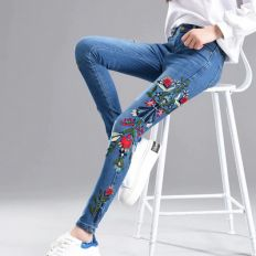 Women Embroidered Pants